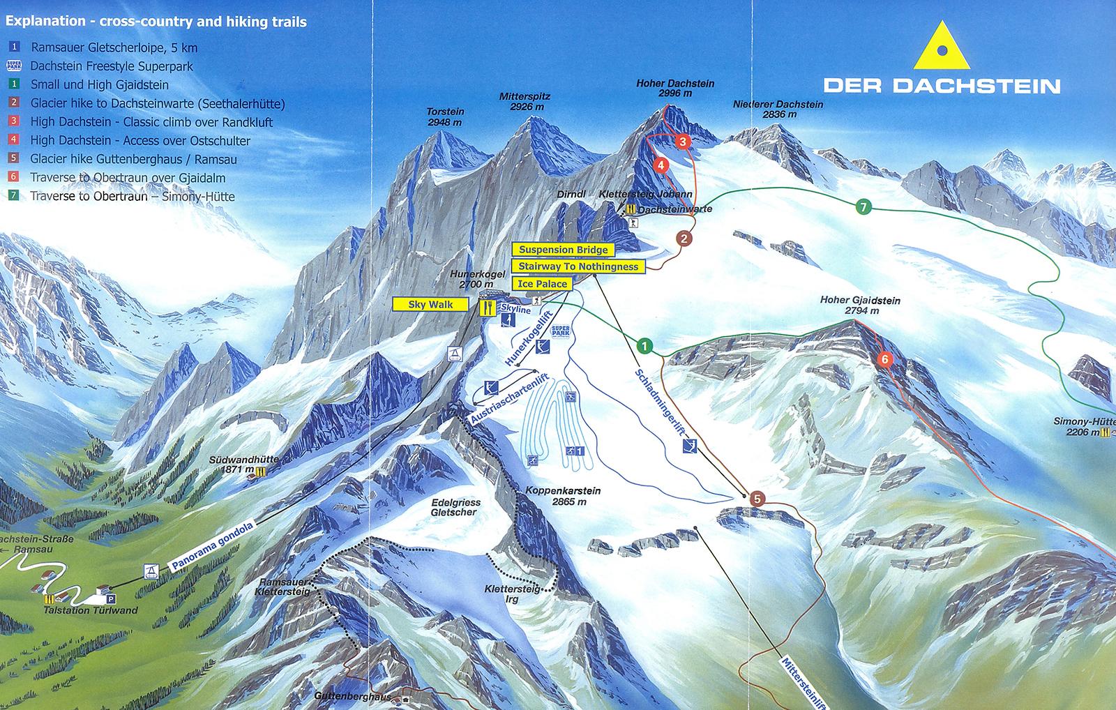 ausztria hegyei térkép AUSZTRIA, DACHSTEIN   2015.07.22. ausztria hegyei térkép